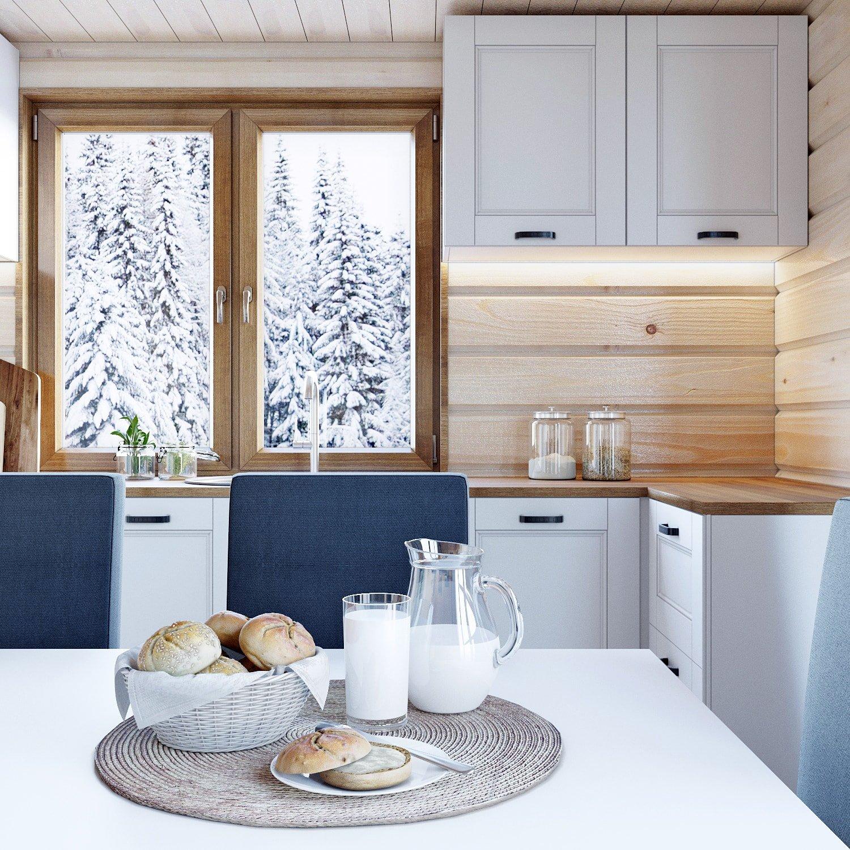 Дизайн кухни.Вид 3.