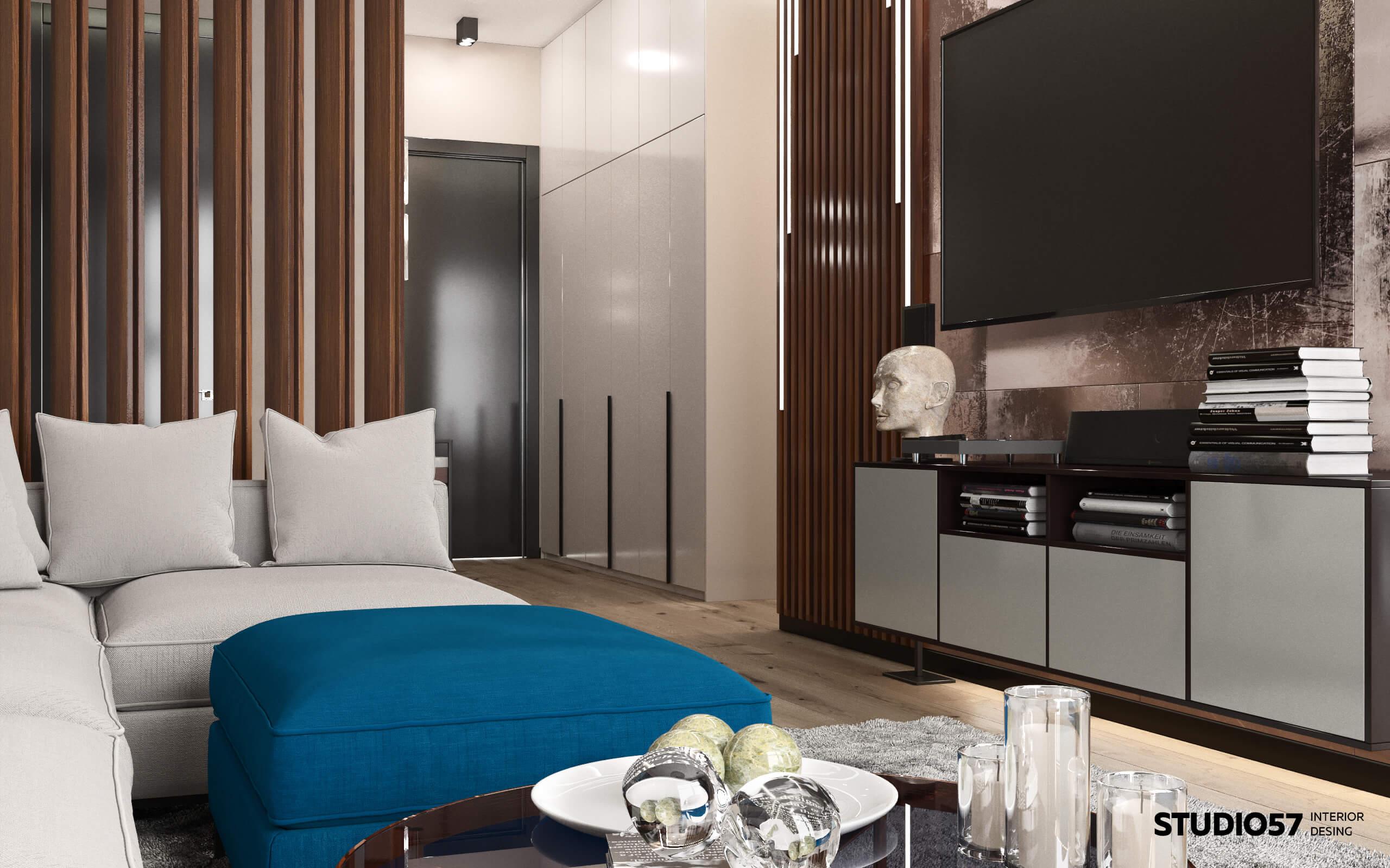Дизайн интерьера гостиной 30 м кв