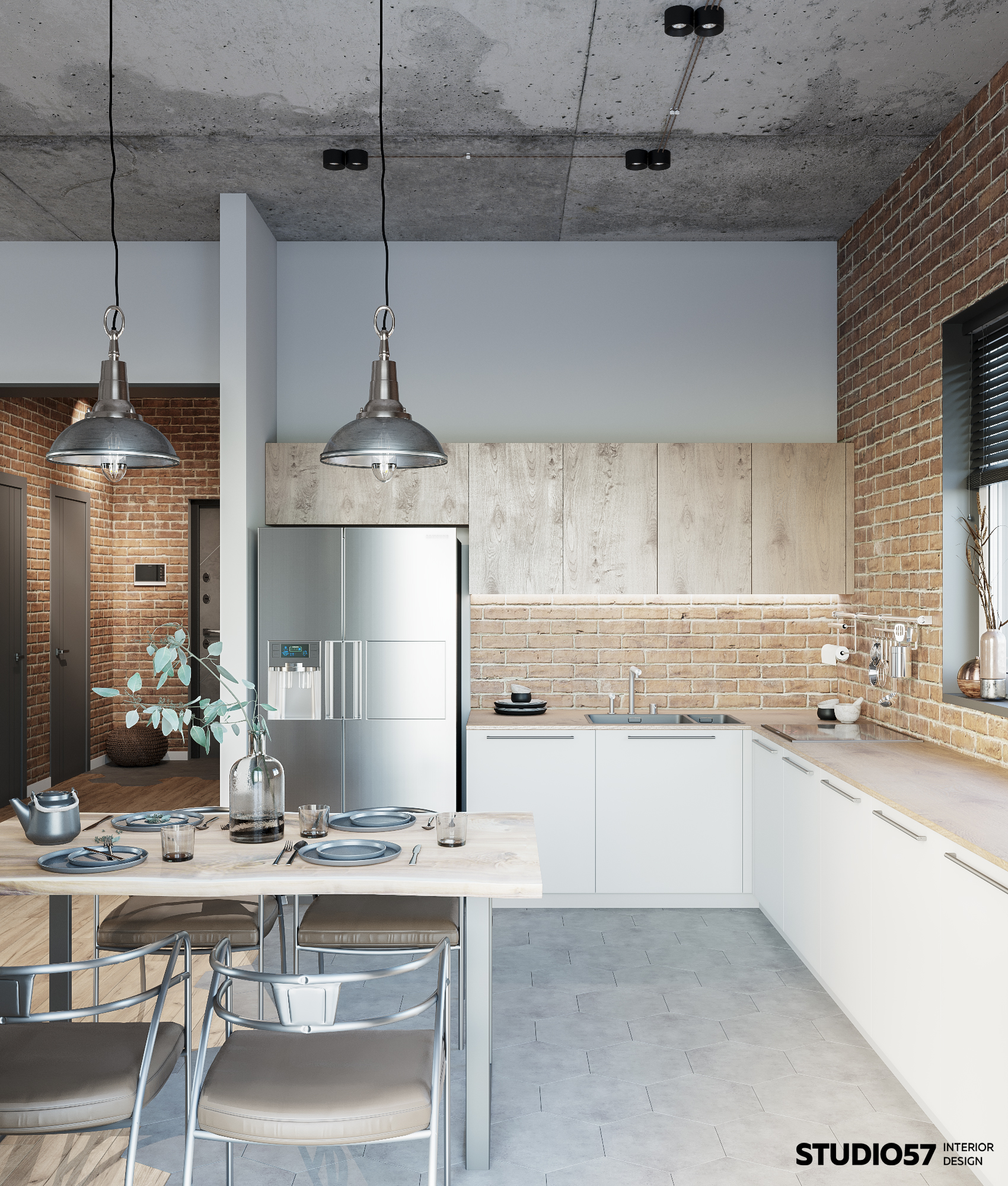 Интерьер кухни. Вид 2.