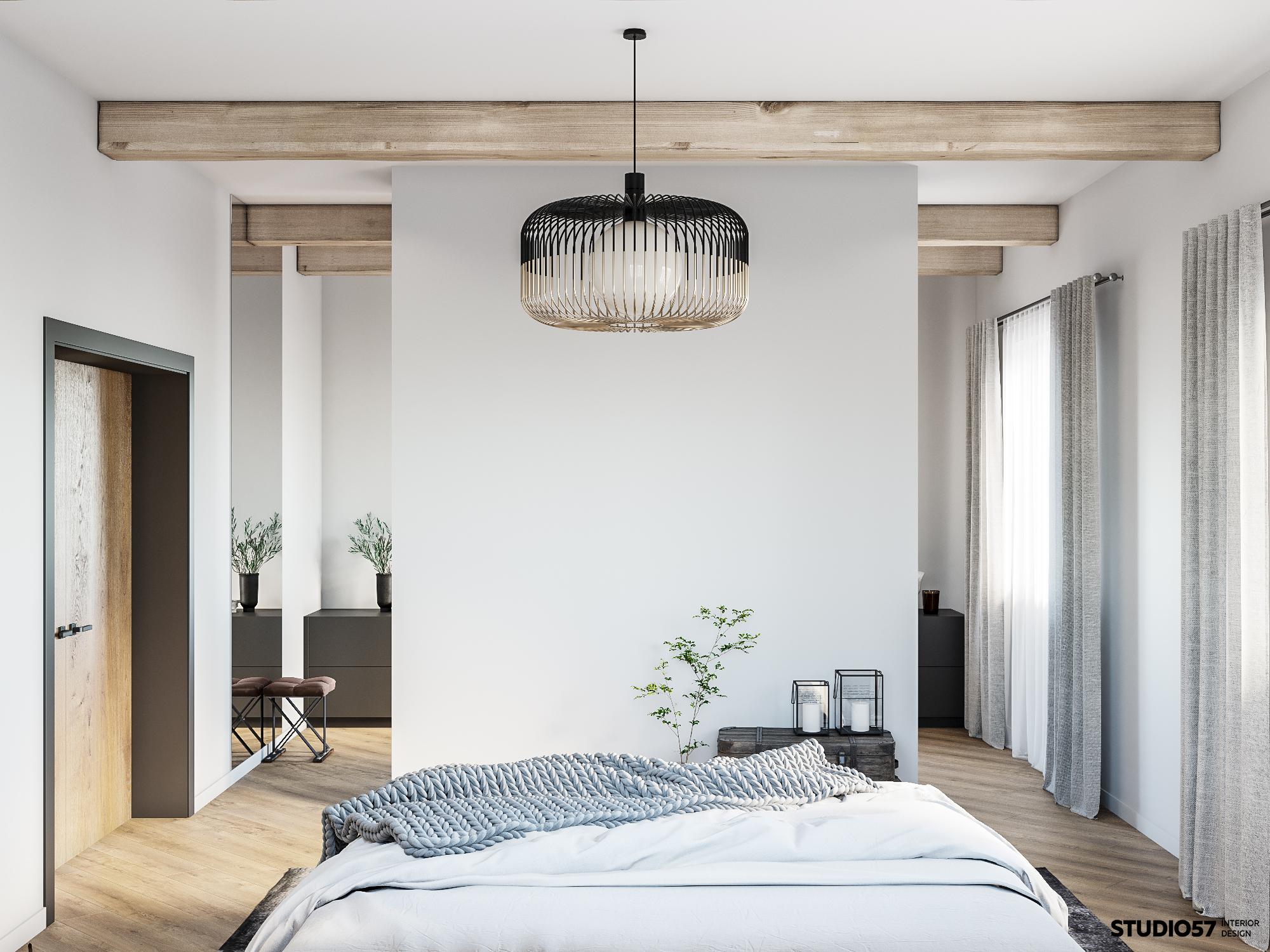 Дизайн спальни. Вид 4.