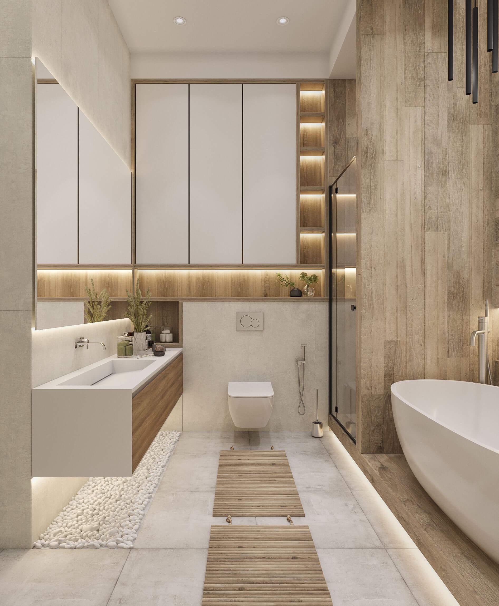 Дизайн ванной. Вид 2.