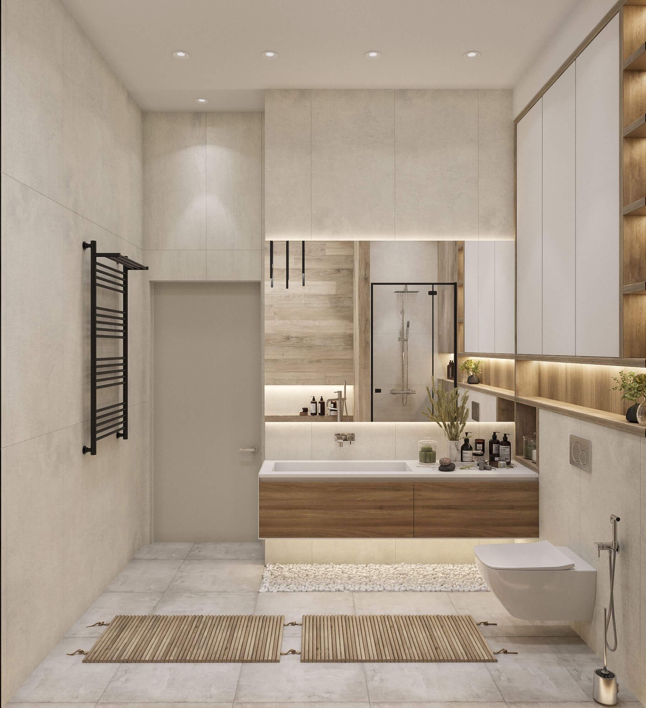 Дизайн ванной. Вид 4.