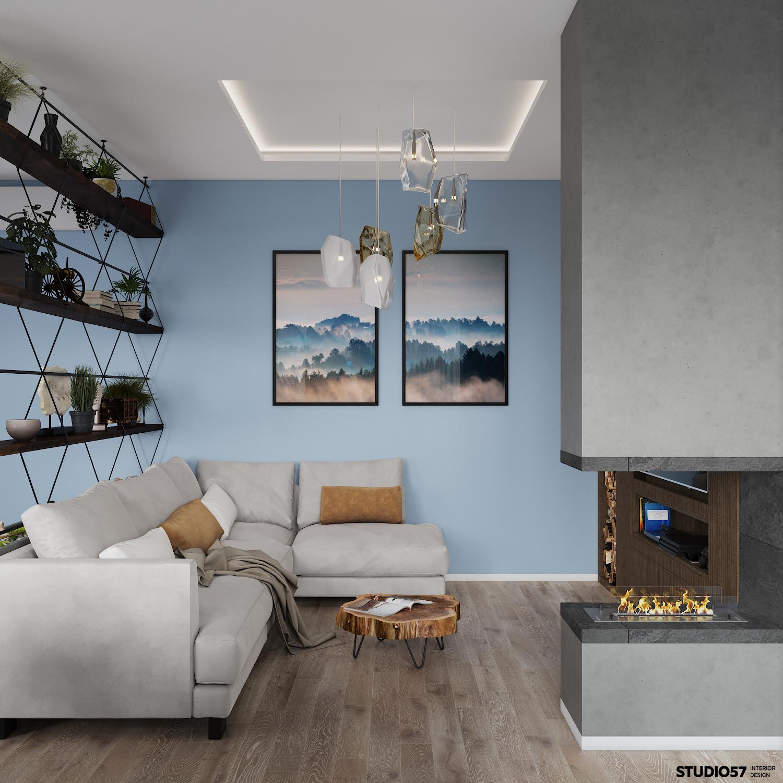 Дизайн гостиной. Вид 6.