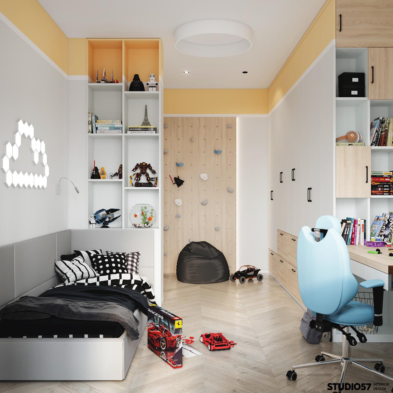 Детская комната 1. Вид 1.